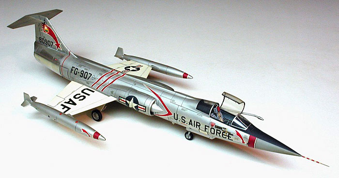 Picture of a US Air Force F104